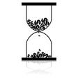 Money hourglass vector image