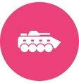 Infantry Tank vector image