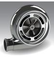 Turbo Compressor vector image