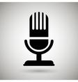 microphone icon design vector image