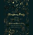 invitation christmas party-02 vector image