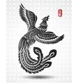 chinese phoenix3 vector image