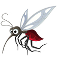 mosquito cartoon for you design vector image