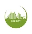 Eco City Design vector image