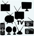 Set of equipment vector image