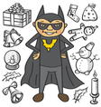 batman vector image