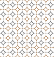 Retro textile stylish seamless pattern vector image