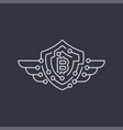 bitcoin logo the concept of protection editable vector image