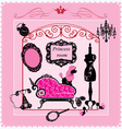 Princess Room - for girls vector image