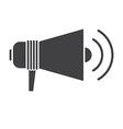 Megaphone Speaker Outline Icon vector image