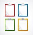 Check list icon set vector image