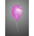 pink air balloon eps10 vector image