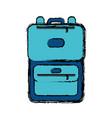 travel suitcase icon vector image