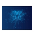 abstract blue background - abstract series vector image vector image