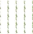 foliar watercolor green seamless pattern vector image