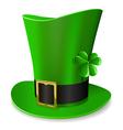 leprechaun hat vector image vector image