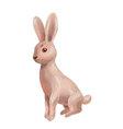 bunny drawing vector image
