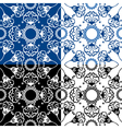 seamless gzel 4 380 vector image