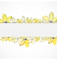 Abstract Simple Flower Pattern Background vector image