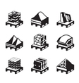 Construction and building materials vector image