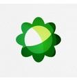 Green eco unusual background concept vector image vector image