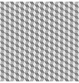 Cube seamless background vector image