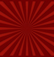 red comics radial speed lines graphic effects vector image