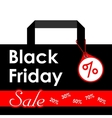 Black Friday sales Black vector image vector image