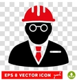Blind Engineer Eps Icon vector image