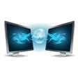 Monitor vector image