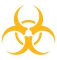 Biohazard Symbol Icon vector image