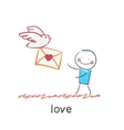 love vector image vector image