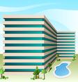 Hotel vector image vector image