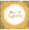 grungy easter card vector image vector image