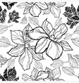 flower seamless 10 grunge vector image