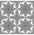 arabic ornament background oriental ethnic vector image