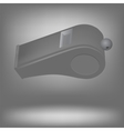 Grey Whistle vector image
