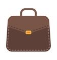 Businessman bag vector image