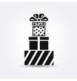 icon Gift box icon vector image