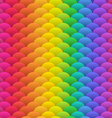 Rainbow blobs seamless vector