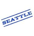 Seattle Watermark Stamp vector image