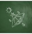 solar sails icon vector image