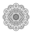 mandala decoration vector image