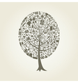 Tree art vector image vector image