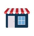 shopping store market online design vector image