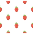 Strawberry icon cartoon Singe fruit icon vector image