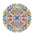 Mandala ornament abstract pattern for your design vector image