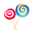 icon lollipop vector image