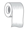 Toilet paper icon3 resize vector image vector image