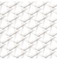 beige grunge grid on a white background vector image